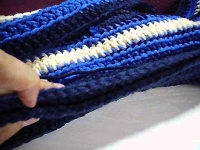 Scoodie Kapuzenschal, einfache Häkel Anleitung
