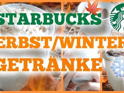 DIY 3 HERBST.WINTER STARBUCKS GETRÄNKE | #FallWithAboutAnna