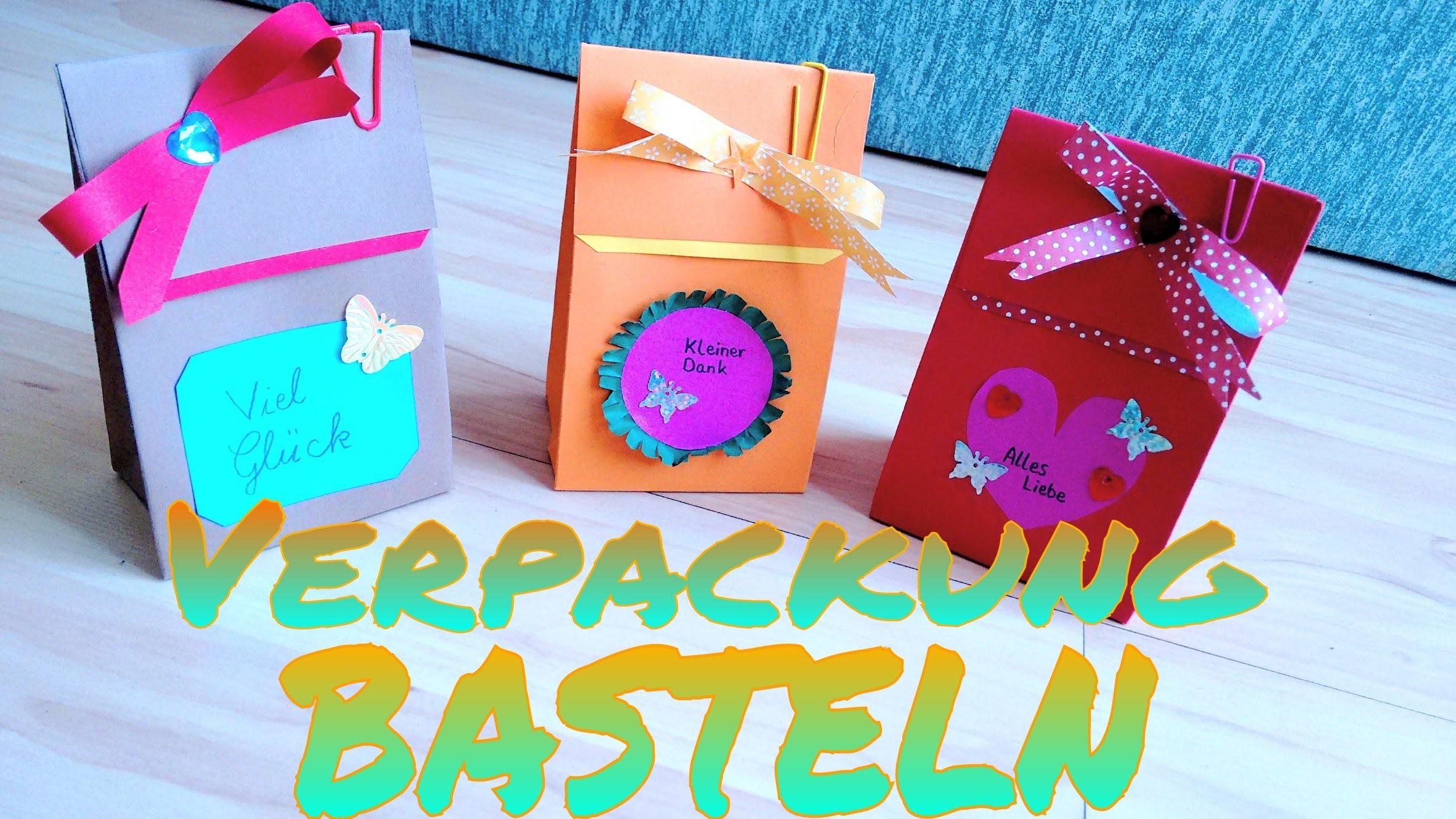 DIY - Verpackung selber basteln (Deutsch)