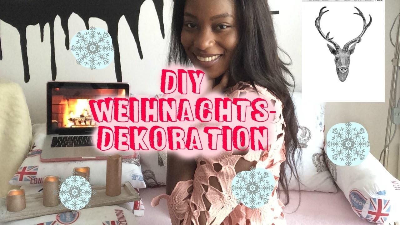 DIY-WEIHNACHTSDEKORATION ❤️.Abisha D