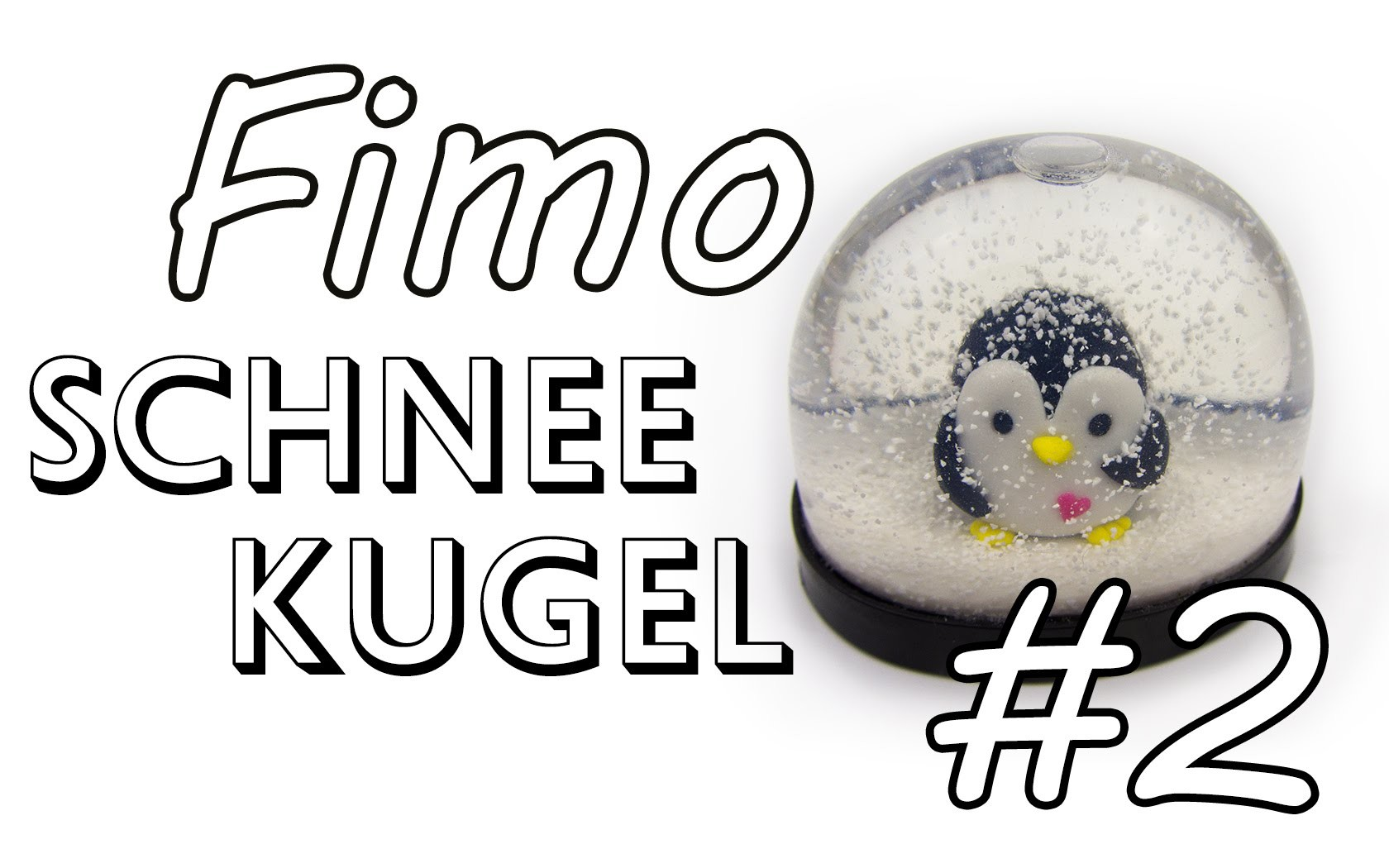 Fimo Schneekugel #2 | DIY Geschenk Ideen #07 | Weihnachts-Serie 2014