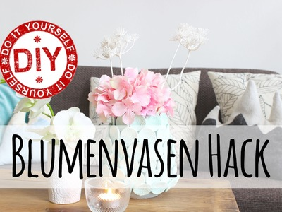 How To I Blumenvasen Hack I Pimpen I Deko Inspirationen Selbstgemacht by Mrs. Shabby Chic
