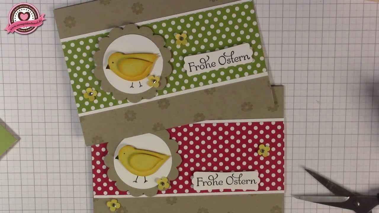 Tutorial: Osterkarte basteln mit Stampin' Up!