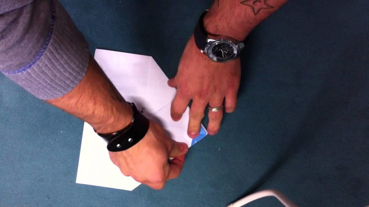 Segler aus Papier basteln - eine Anleitung