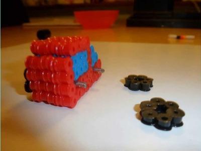 3D Auto mit Bügelperlen