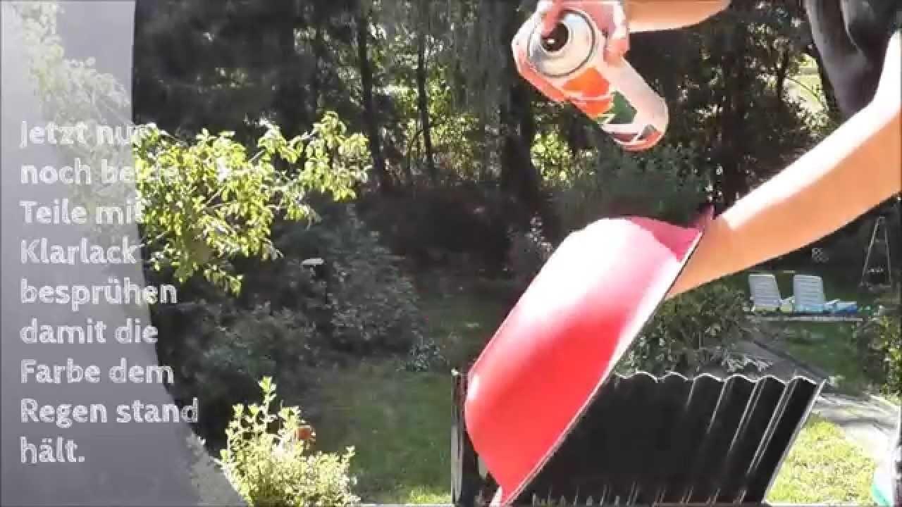 [DIY mit Mel] Fliegenpilze für den Garten basteln
