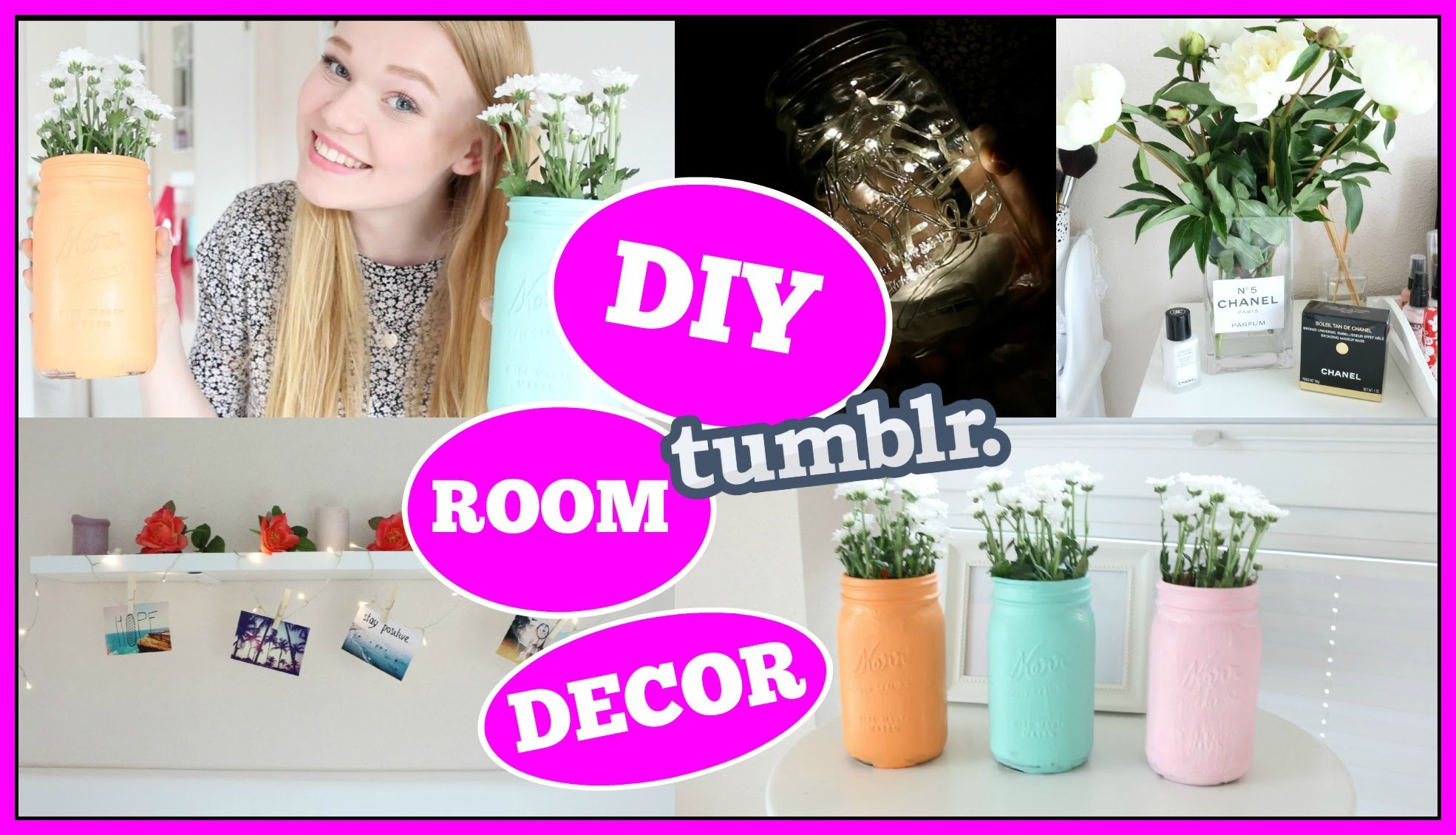 DIY TUMBLR INSPIRED ROOM DECOR !