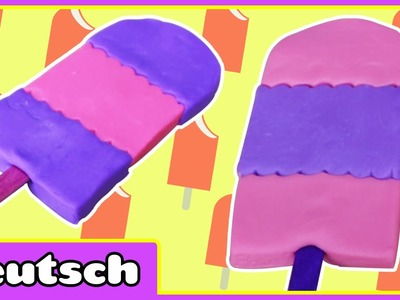 Plastilin- Eiscreme Bar - PlayDoh Icecream Bars | PlayDoh Creation | Knete Videos