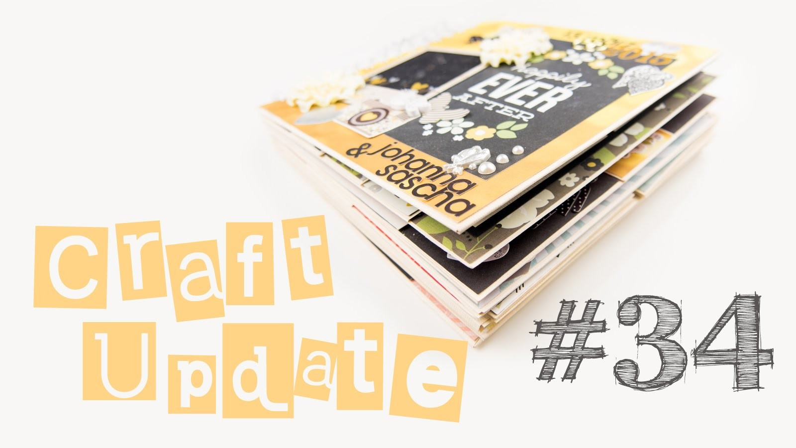 [Craft Update #34] Fotoalbum zur Hochzeit | DIY Inspiration Geschenk Ideen