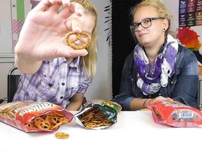 DIY Inspiration Snacktest: Brezeln | Oktoberfest Spezial: Wir testen drei Sorten Brezeln!