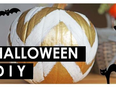 Halloween Kürbis dekorieren, aushöhlen, schnitzen, bemalen | DIY Eileena Ley [SUBTITLED]