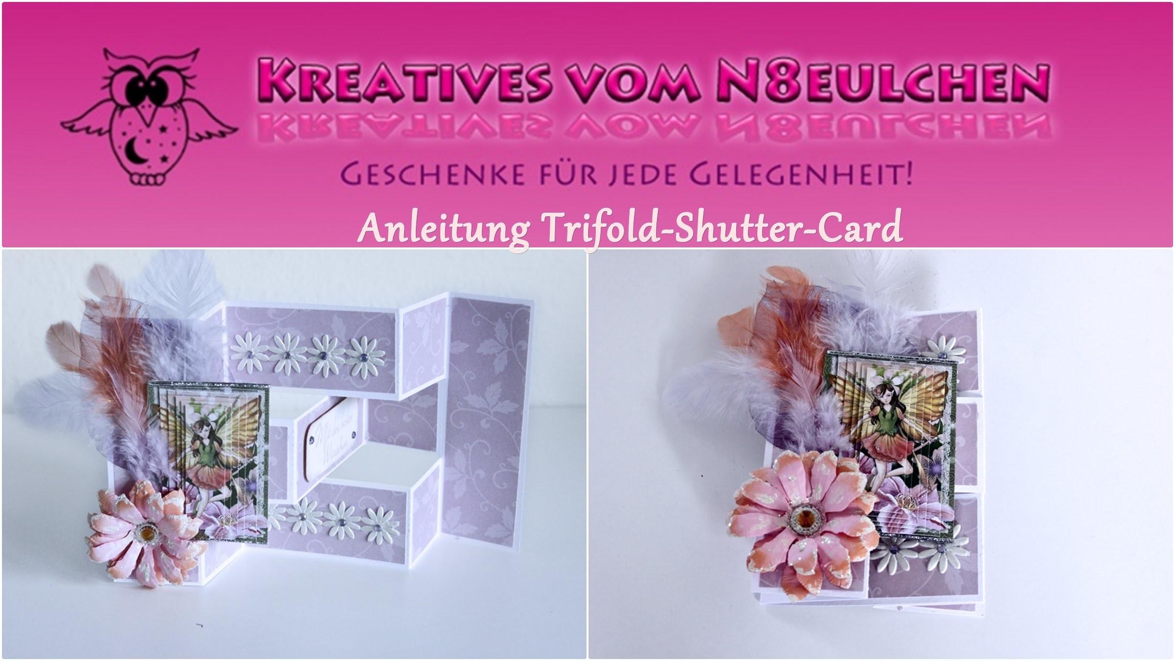 Koop-Craft: Anleitung Tri-Fold-Shutter-Card