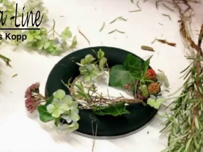 DIY: Herbstkranz basteln