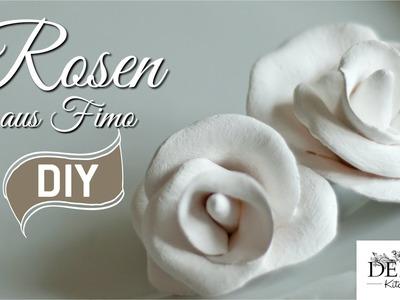 DIY: Tolle Deko-Rosen aus Fimo selber machen | Deko Kitchen