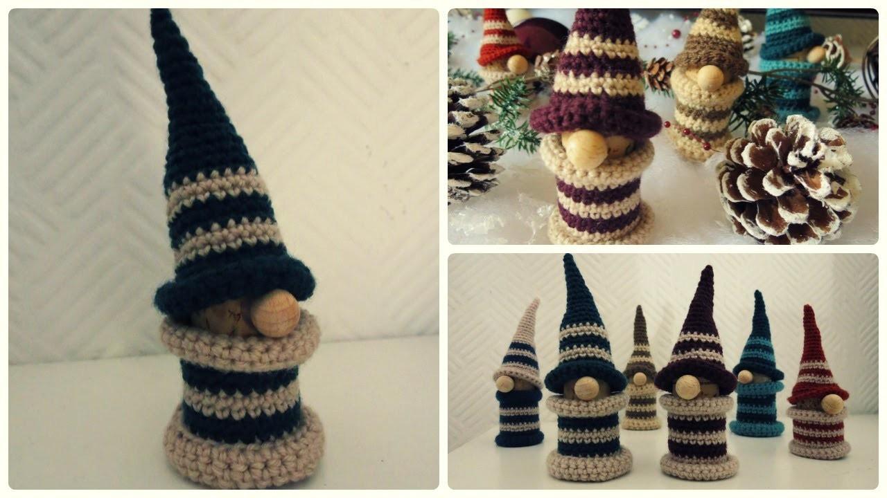 Häkelgnom * DIY * Crochet Gnome [eng sub]