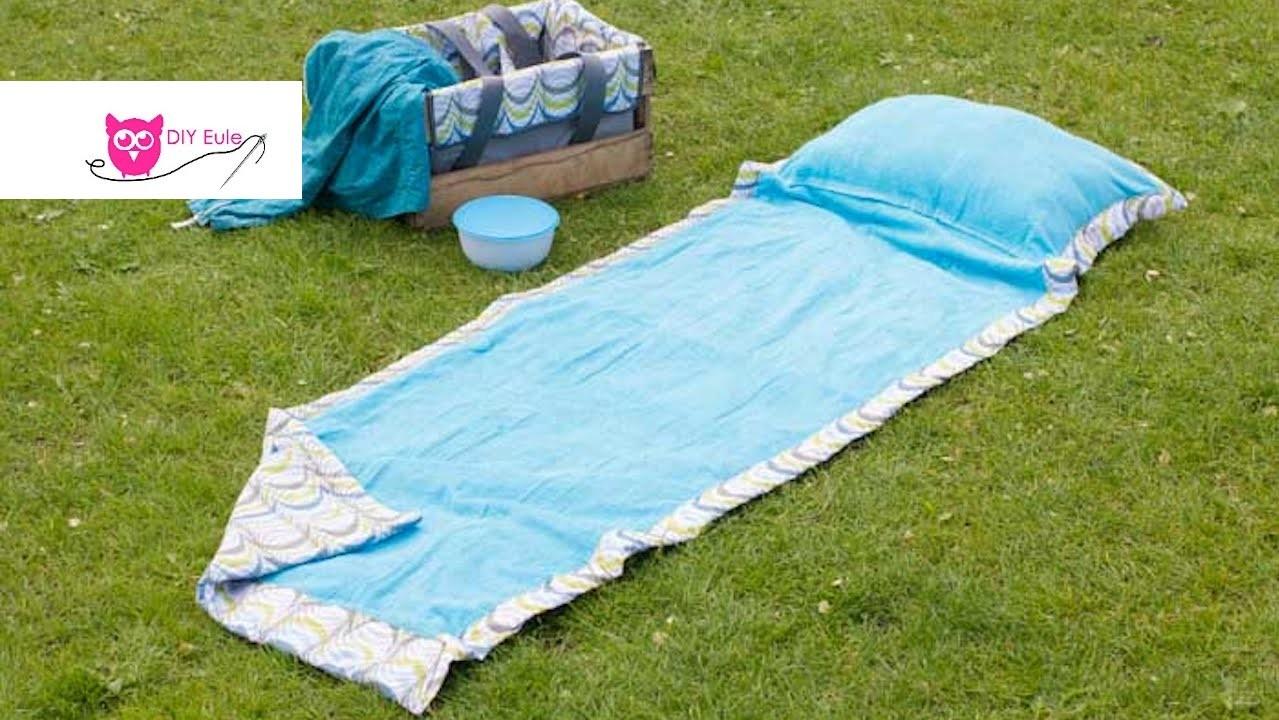 Picknickdecke nähen mit Kissen. DIY Eule & Frlein Pusteblume