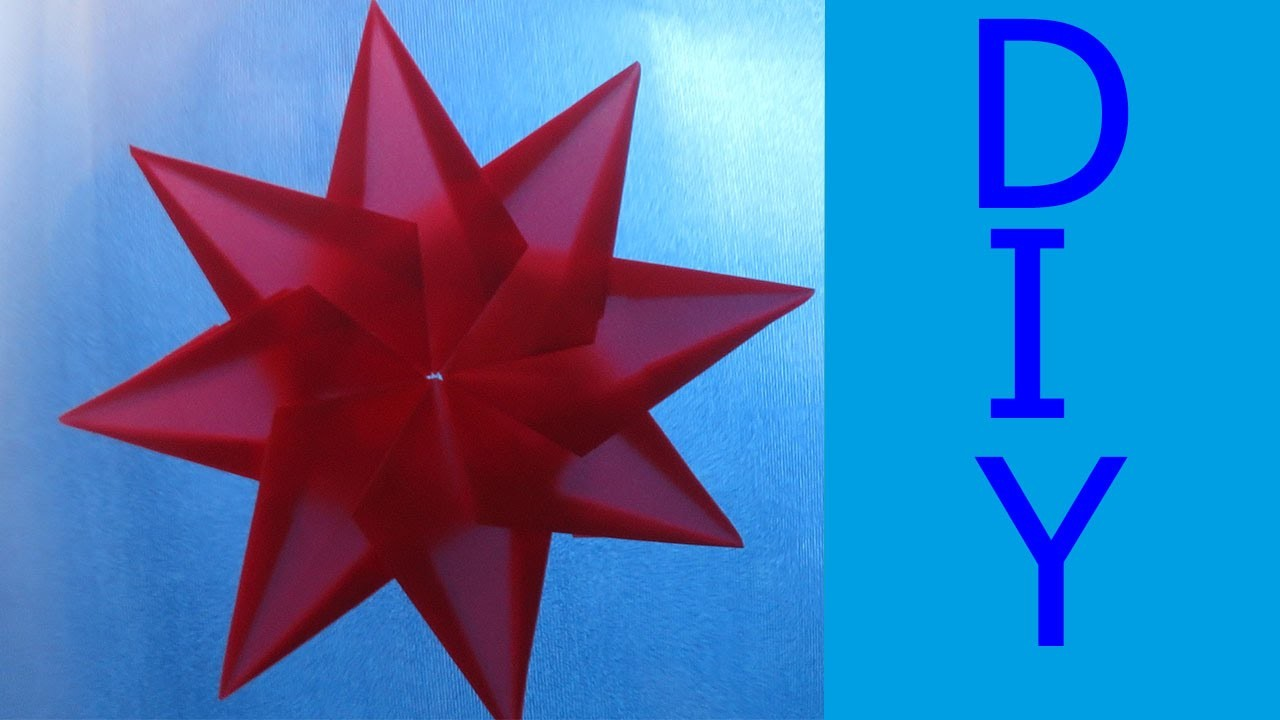 Transparentpapier Stern ✰ ★♪ ☼ Weihnachtsdeko Diy