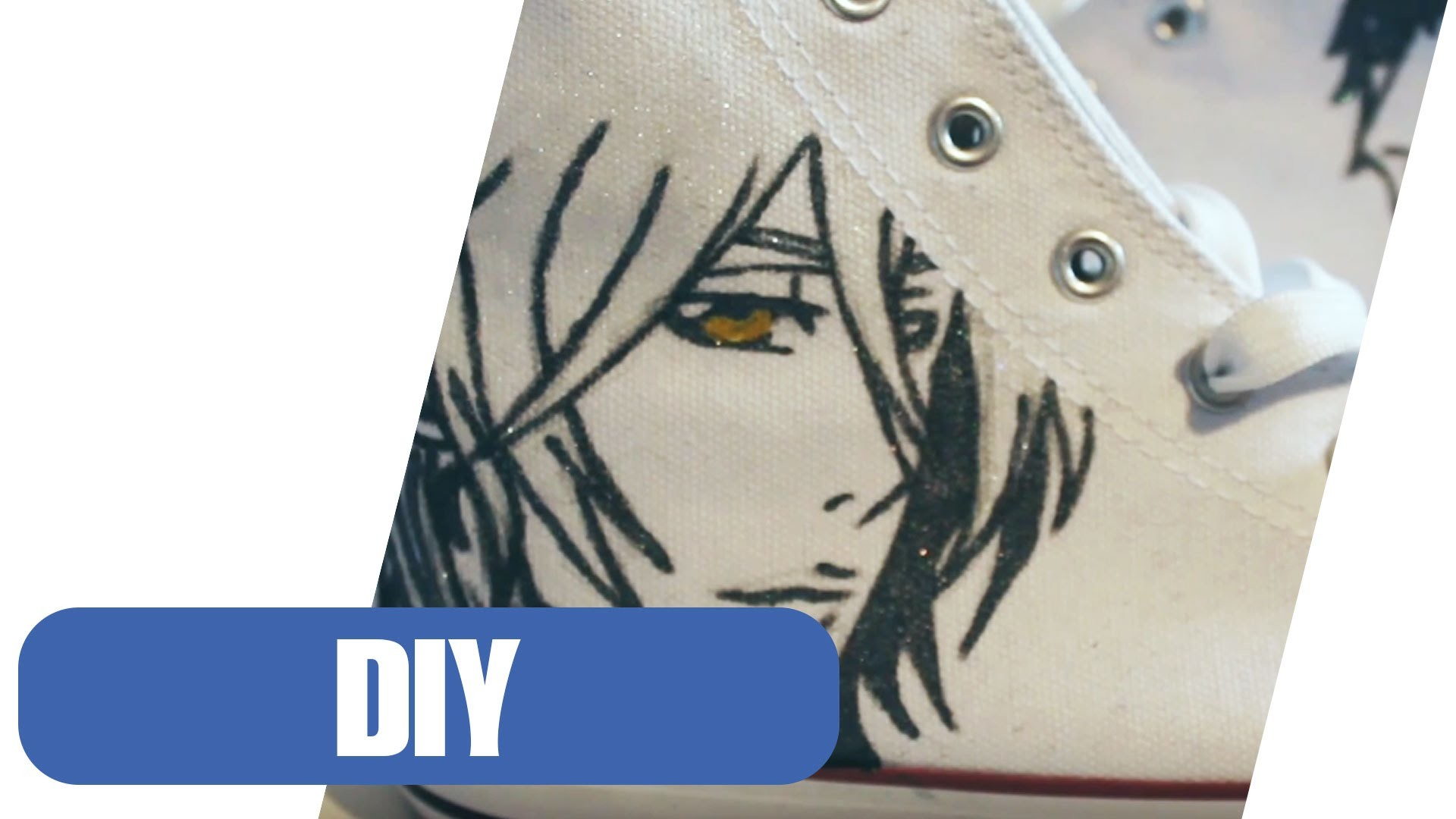 DIY: Schuhe im Anime Style selber machen I Upcycling