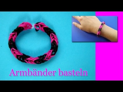 Armbänder Anleitung - Deutsch - Schmuck Basteln - selber machen