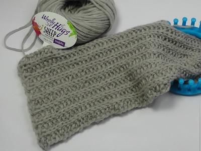 Strickring - Loom Knit - PRYM - Schal Patentmuster - Veronika Hug