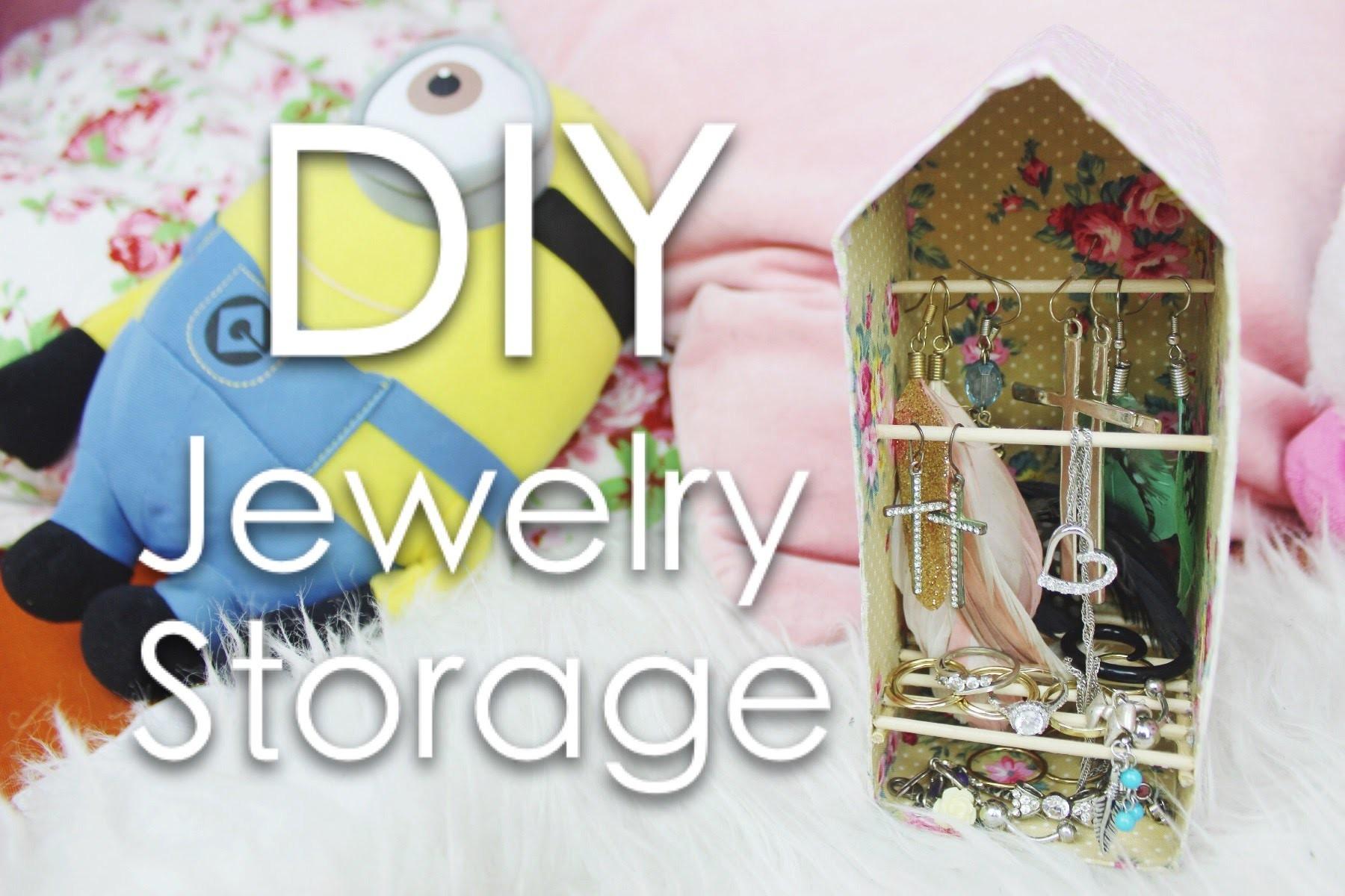 DIY Schmuckablage. Jewelry storage | Hue Chi