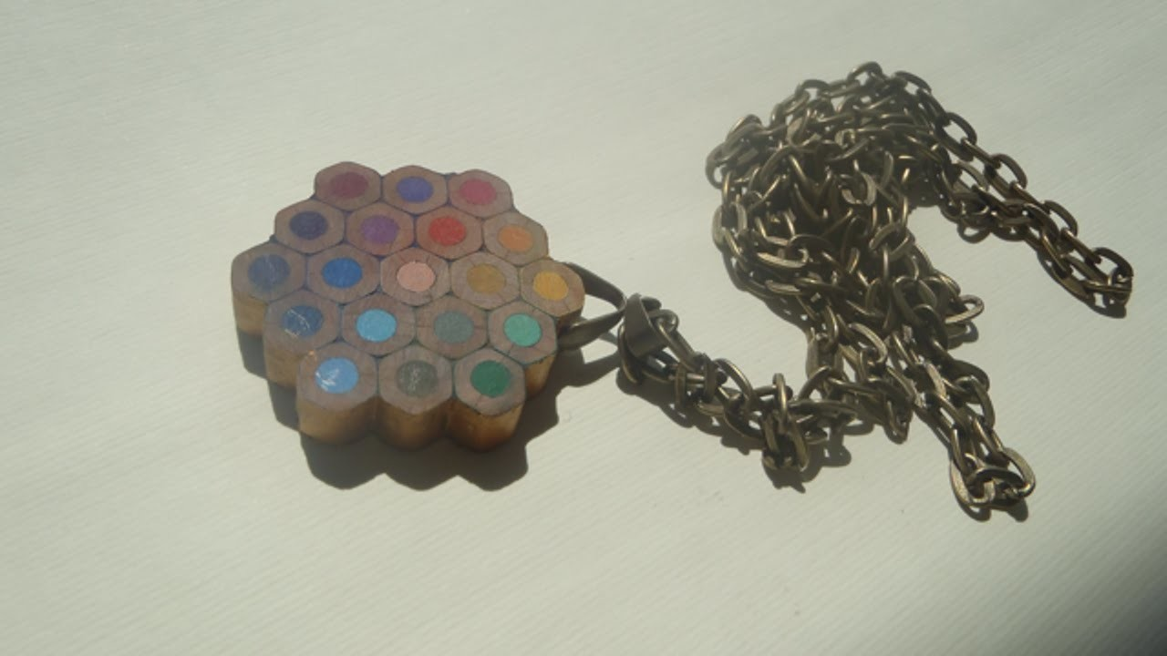 Einen Coolen Anhänger Aus Buntstiften Herstellen - DIY Style - Guidecentral