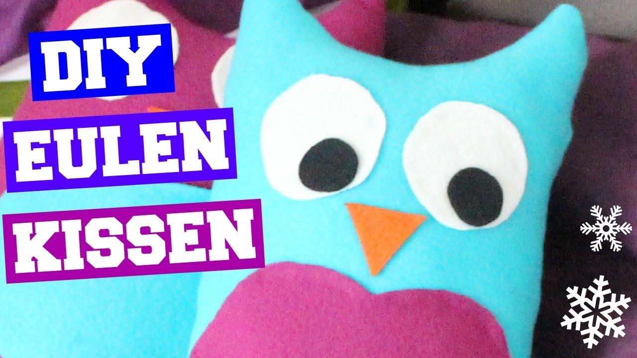 DIY Owl Pillows | Eulenkissen | Geschenkidee
