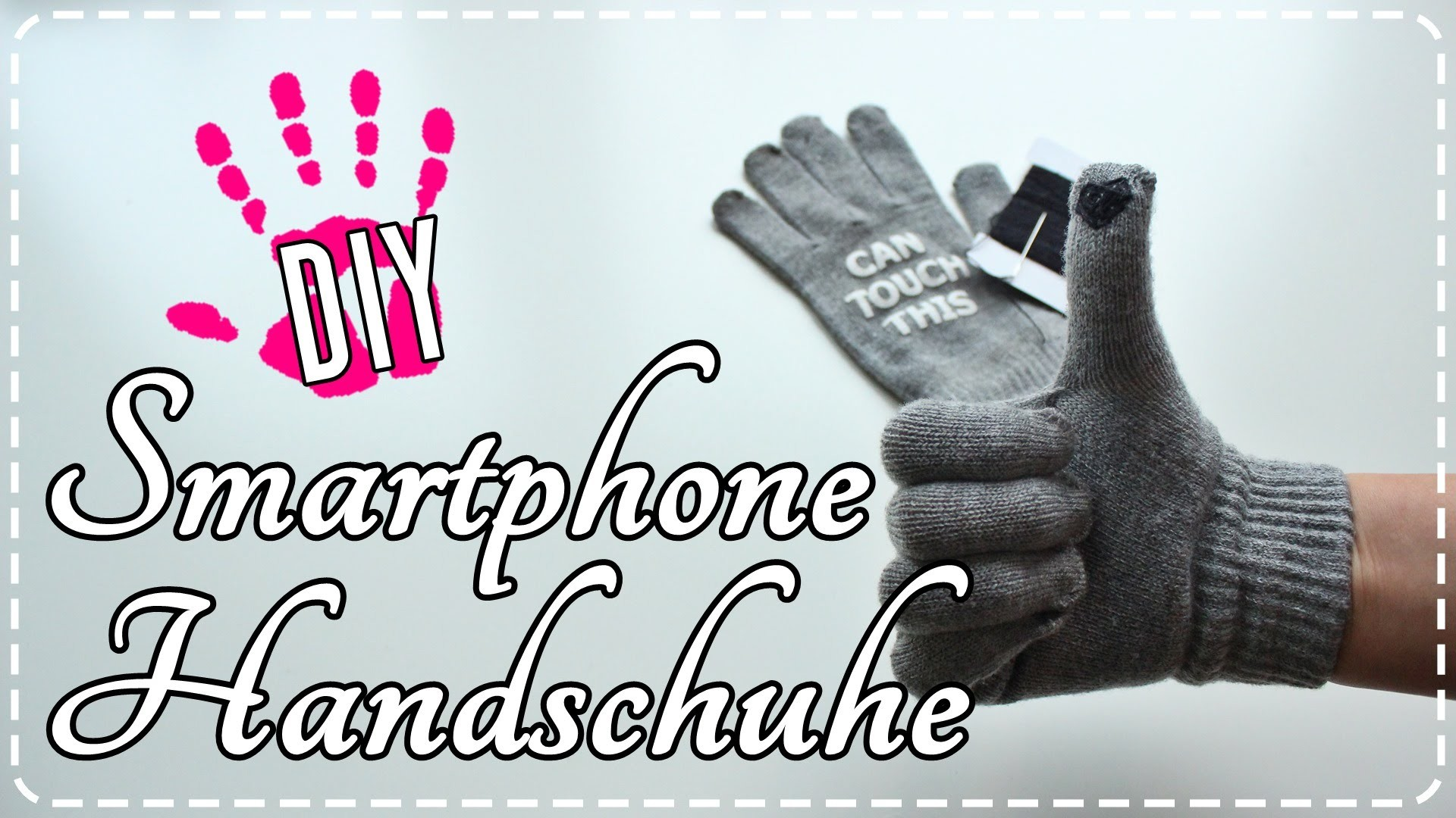 DIY- Smartphone Handschuhe | Touch gloves!