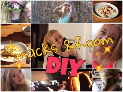 Snack and Room DIY's | Mädchenabend-Edition