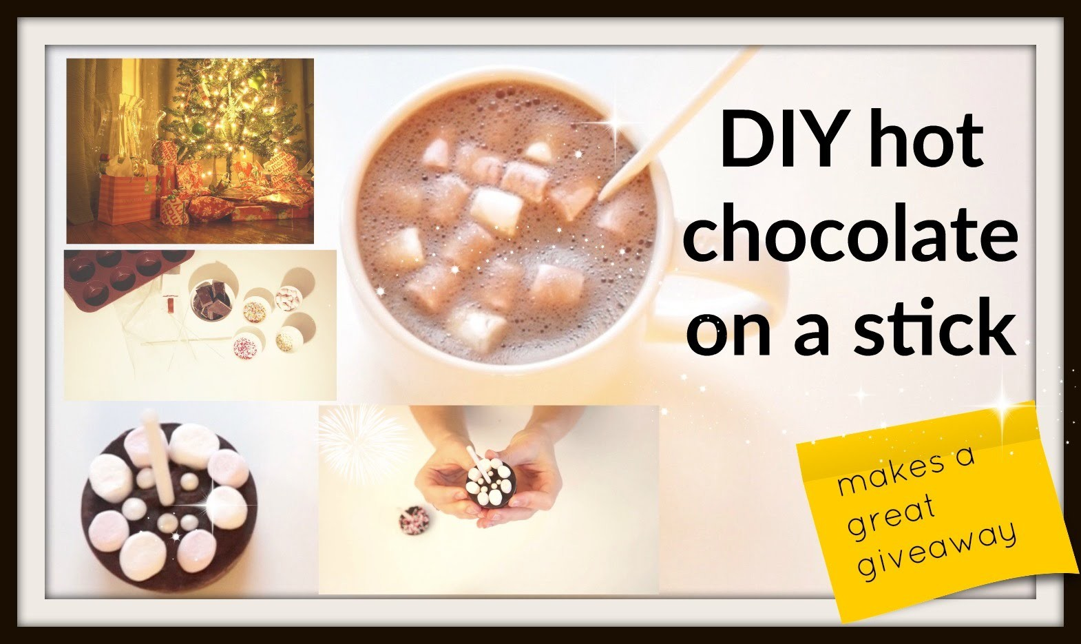 DIY hot chocolate on a stick *german*