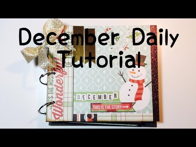 DIY Scrapbook *December Daily* [ tutorial | deutsch]