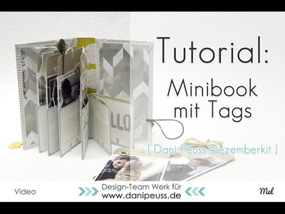 Tutorial | Minibook mit dem Dezemberkit von danipeuss.de