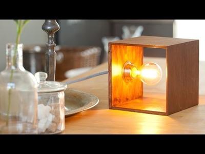 Cube Dekoleuchte DIY Set von Frida & Finn