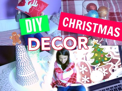 DIY CHRISTMAS ROOM DECOR + ROOM DECOR IDEAS