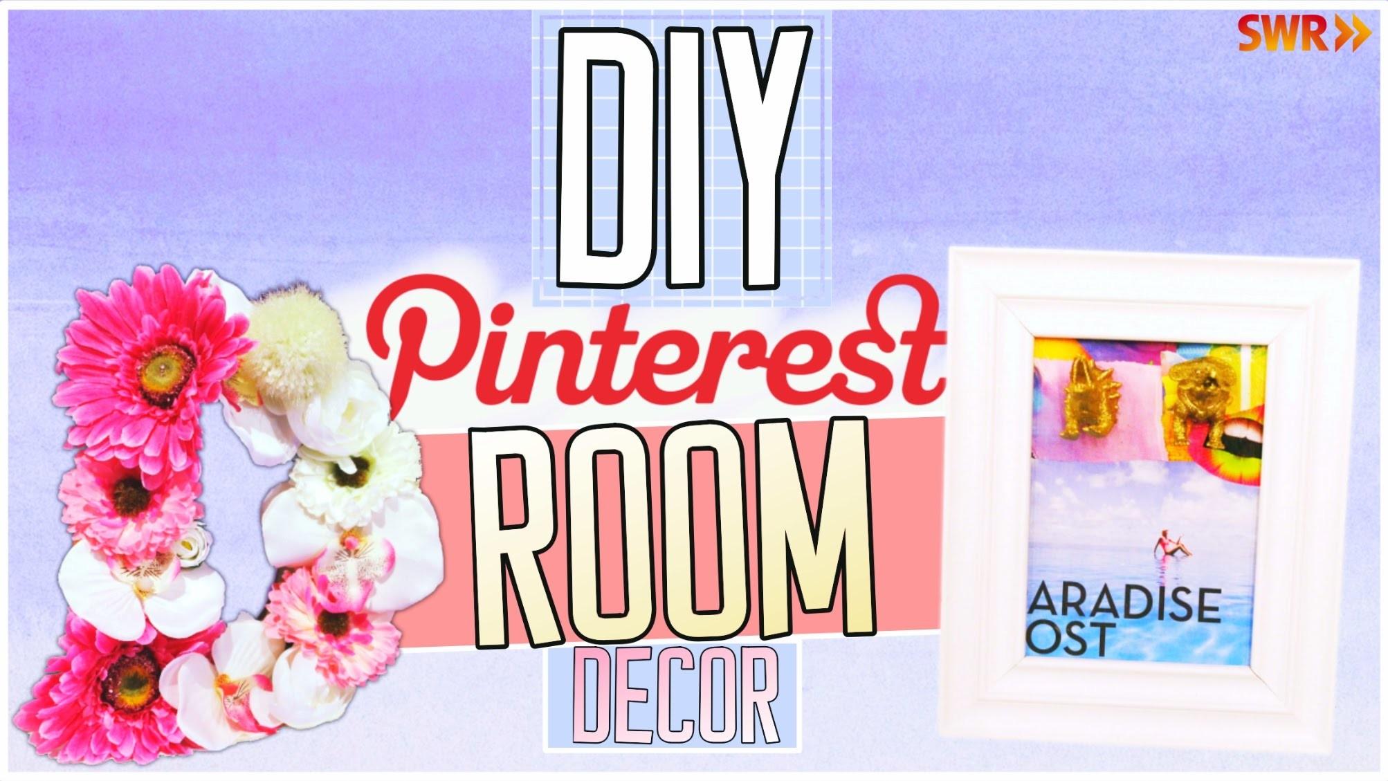 DIY Pinterest Room Decor Ideen! Einfach, schnell & günstig!