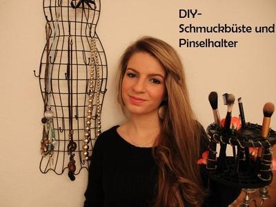 DIY - Schmuckbüste & Pinselhalter. Aus Alt mach Neu #2