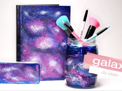 Tumblr inspired galaxy diy - so verschönert ihr handy u.a. mit nagellack l essenceTV