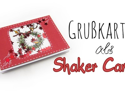 "Grußkarten-Technik ""Shaker Card"" | DIY Geschenk Ideen #02 | Weihnachts-Serie 2014"