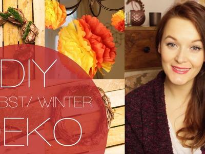 UPCYCLING | DIY Herbst.Winter Deko | Kleinfallsreich