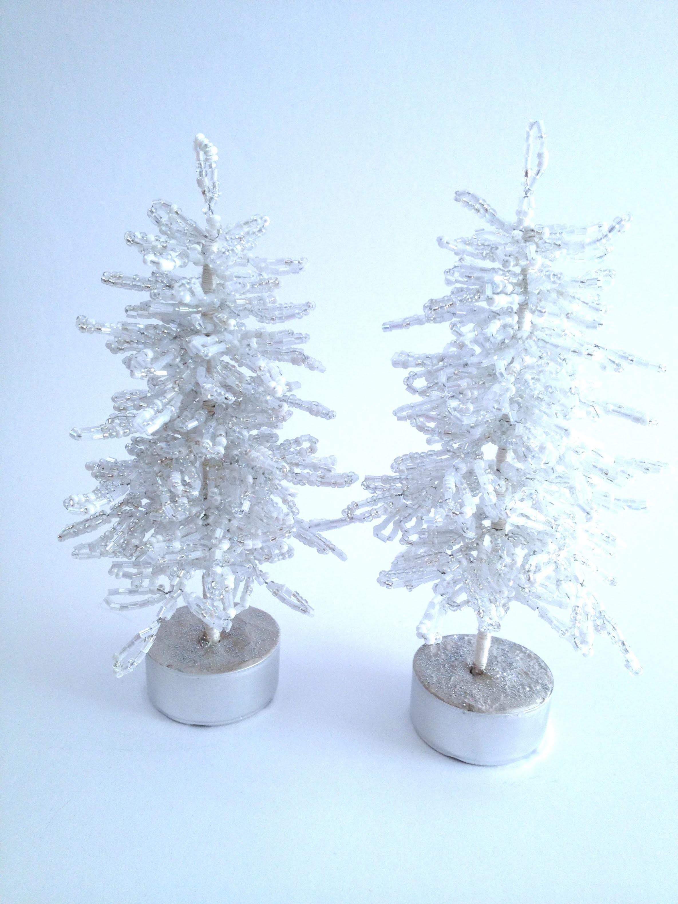 Blaufichte. Fichte. Tannenbaum aus Perlen. Teil 2.2. DIY Weihnachten