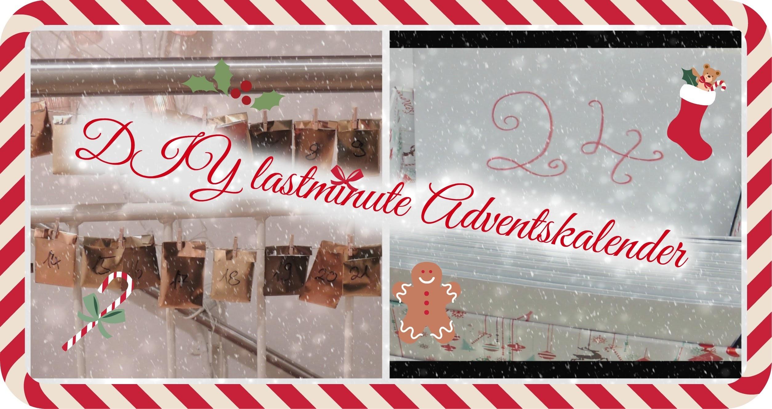 DIY lastminute Adventskalender