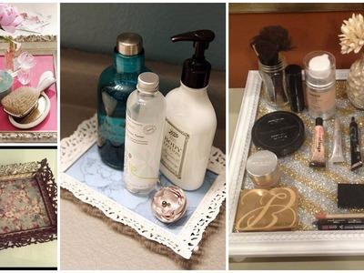 DIY Vintage Aufbewahrung aus altem Bilderrahmen | Vanity
