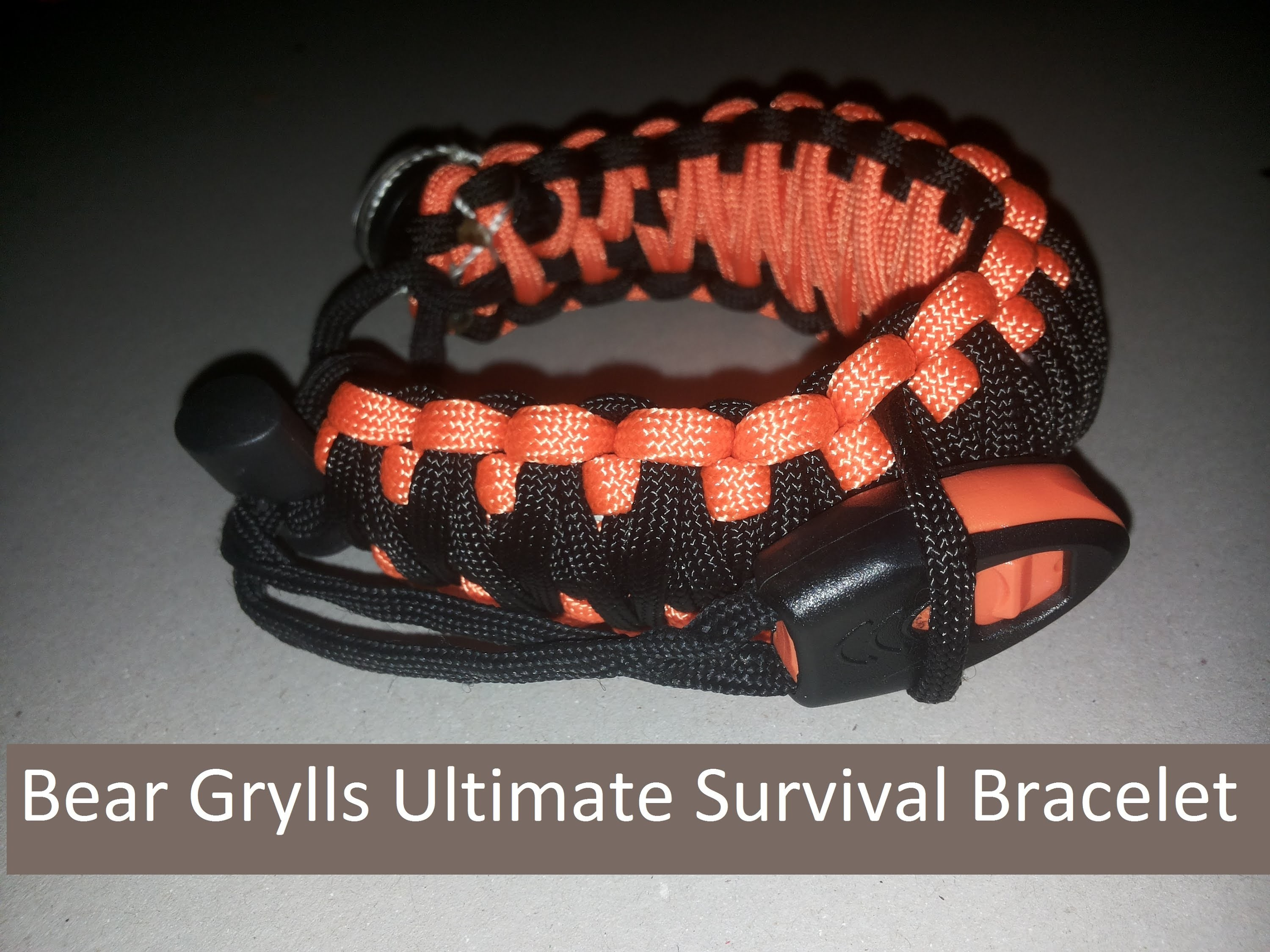 How To: Bear Grylls Ultimate Pro Survival Bracelet DIY Alternative