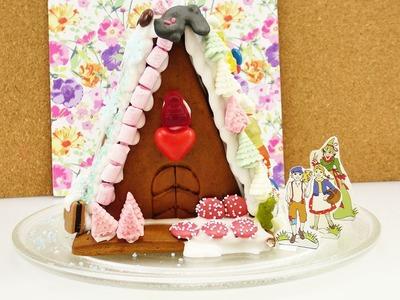 Lebkuchenhaus Challenge mit Eva & Kahti | DIY Knusperhäuschen aufbauen | Weihnachtsspaß