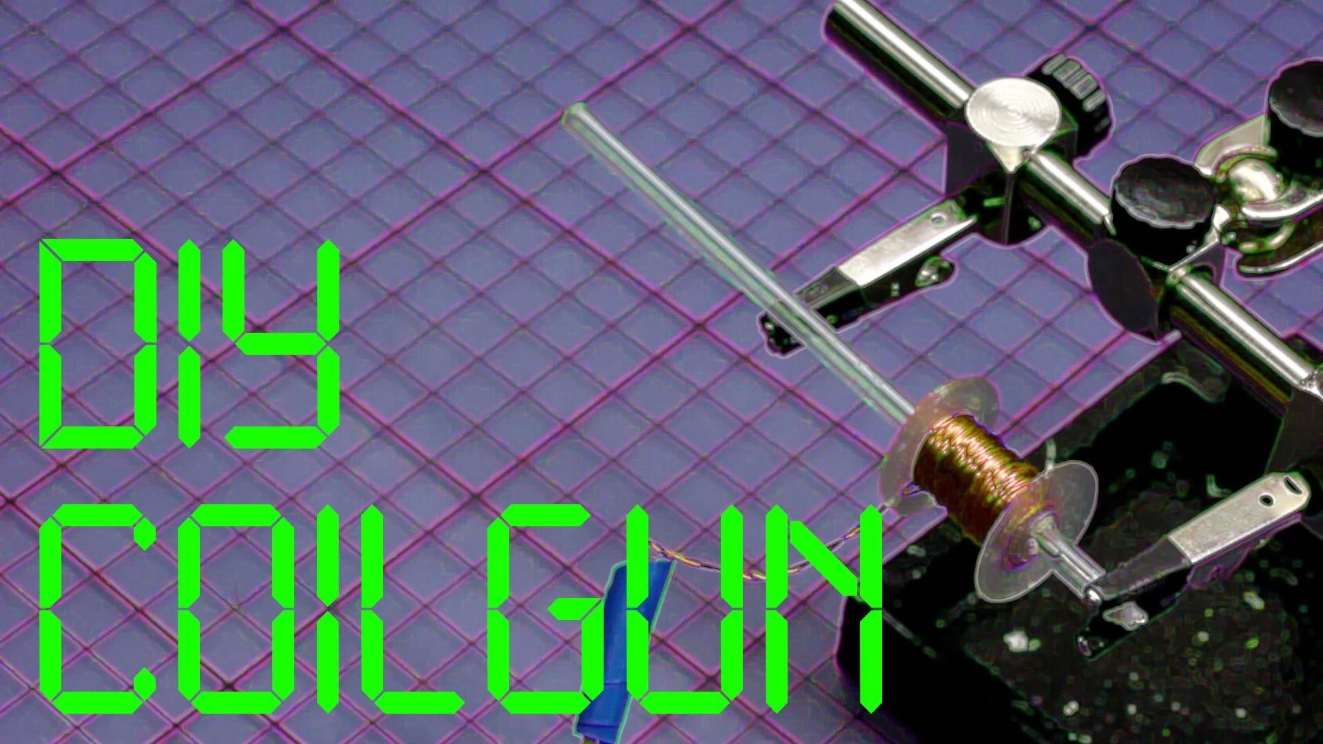 Coilgun super einfach selbst bauen - DIY Gaußgewehr