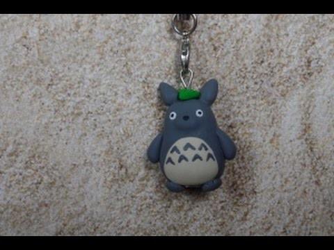 Kleiner Totoro [sehr einfach] ~ Fimo Tutorial #9
