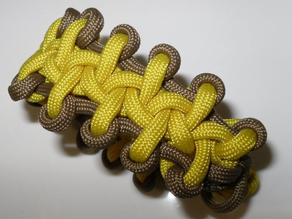 "Paracord Bracelet Tutorial in Deutsch auch als Blog ""Boot Lace Bar"""