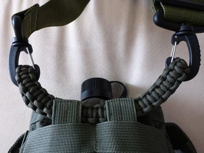 Schultergurt (Halterung) für Feldflaschentasche aus Paracord [deutsch] Tutorial