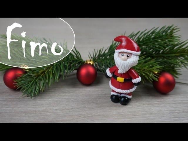 Weihnachtsmann. Nikolaus ~ Fimo Tutorial #12