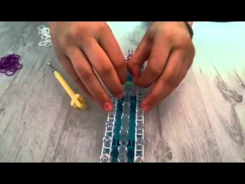 Loom Tutorial ♡ Sternenarmband ~ Deutsch ♡
